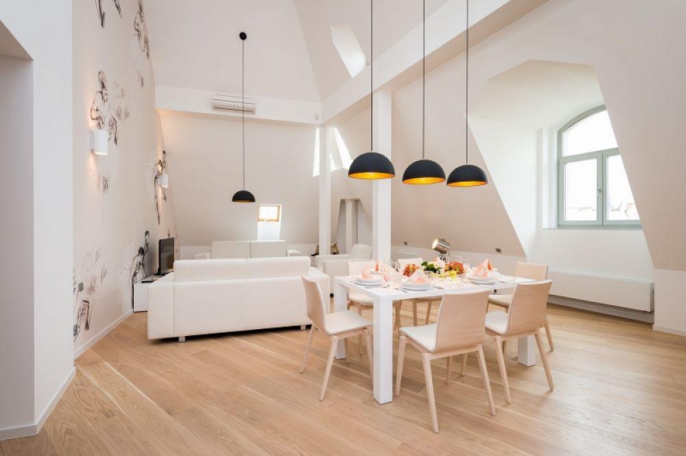 Půdní byt 5+kk, plocha 208 m², ulice Vodičkova, Praha 1 - Nové Město | 11