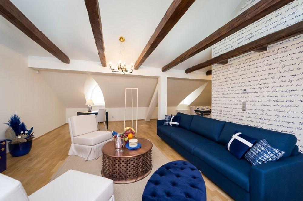 Půdní byt 4+kk, plocha 213 m², ulice Vítězná, Praha 1 - Malá Strana | 4
