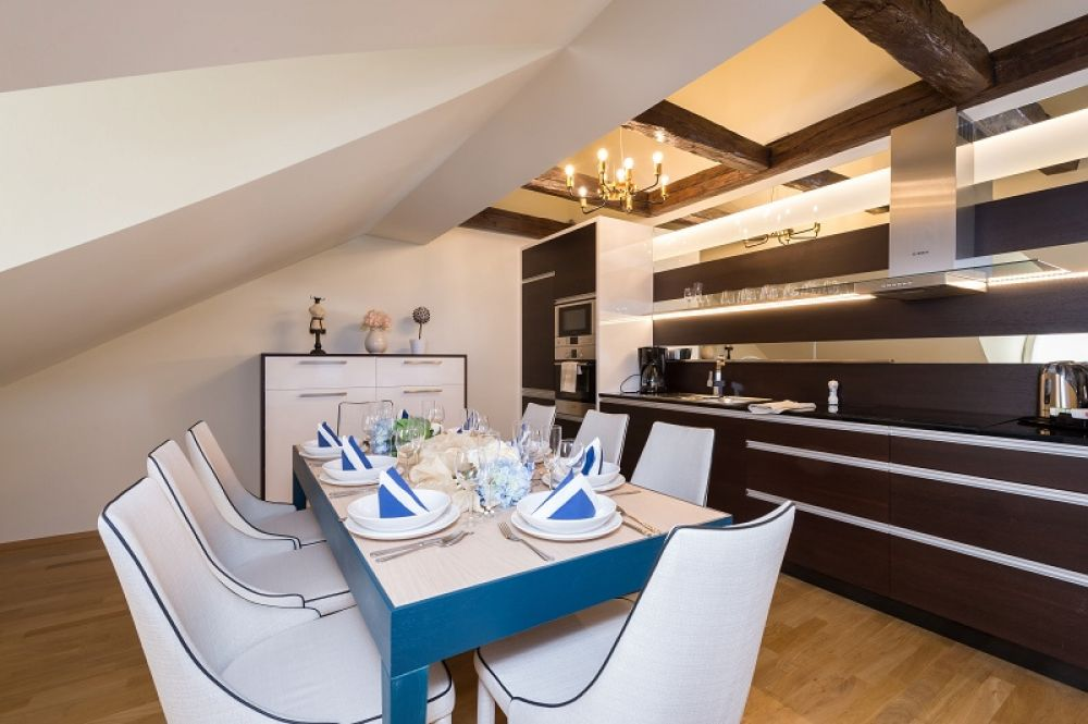 Půdní byt 4+kk, plocha 213 m², ulice Vítězná, Praha 1 - Malá Strana | 5