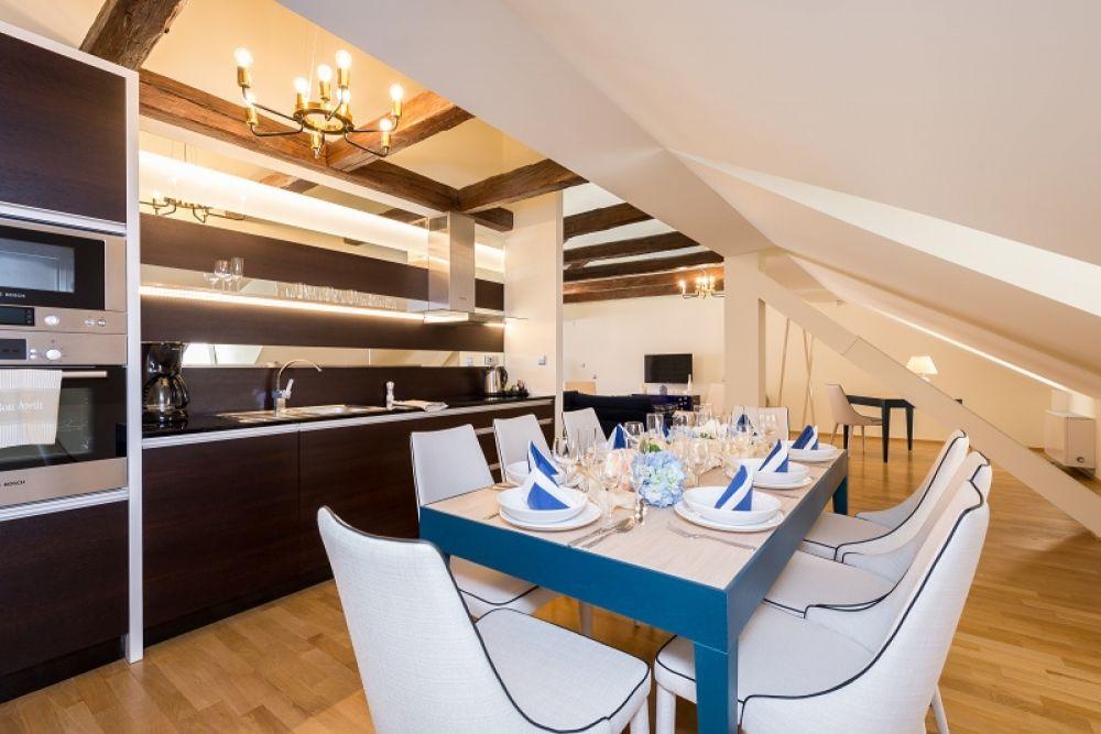 Půdní byt 4+kk, plocha 213 m², ulice Vítězná, Praha 1 - Malá Strana | 6