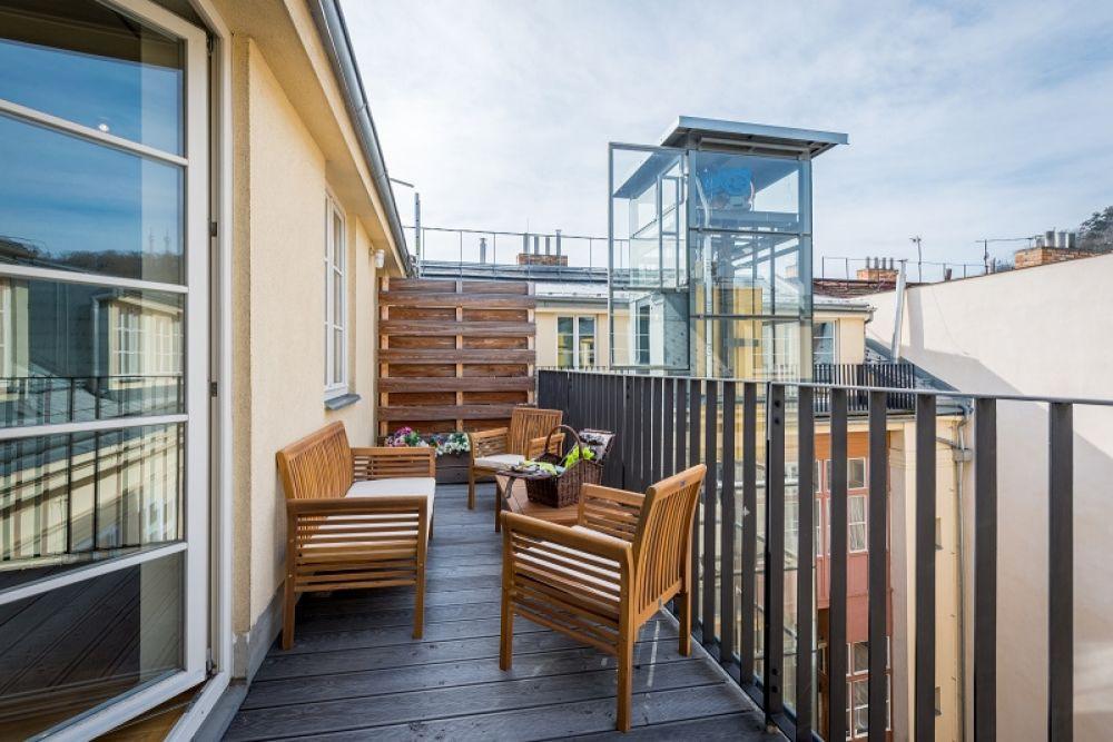 Půdní byt 4+kk, plocha 213 m², ulice Vítězná, Praha 1 - Malá Strana | 15
