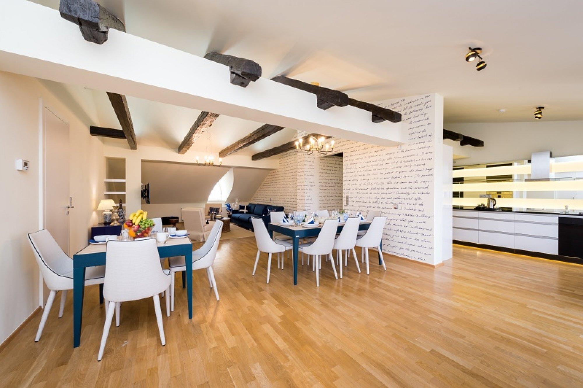 Půdní byt 5+kk, plocha 281 m², ulice Vítězná, Praha 1 - Malá Strana | 1