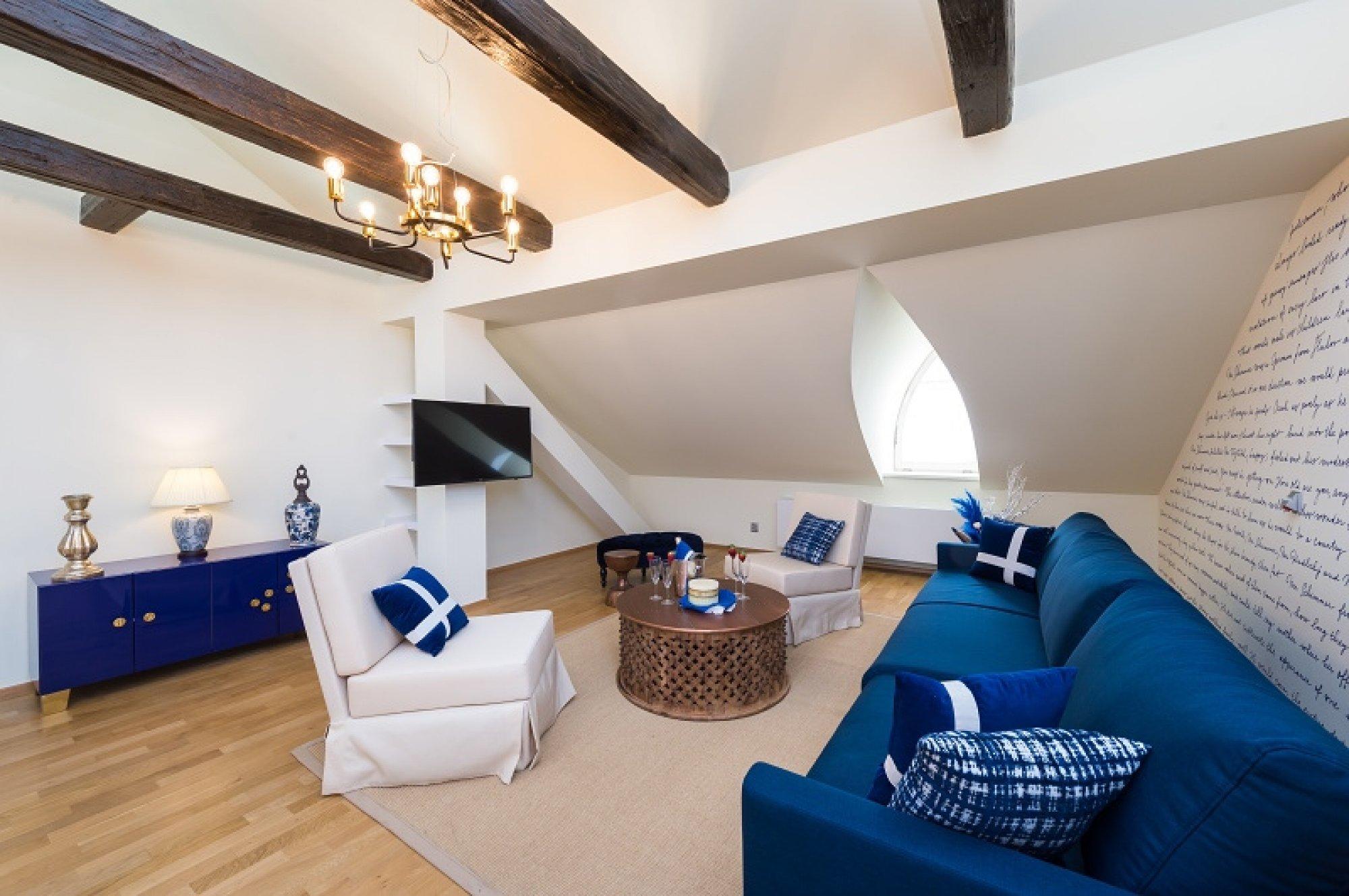 Půdní byt 5+kk, plocha 281 m², ulice Vítězná, Praha 1 - Malá Strana | 3