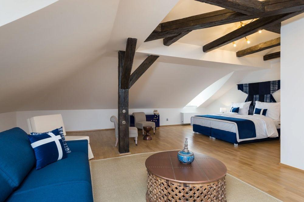 Půdní byt 5+kk, plocha 281 m², ulice Vítězná, Praha 1 - Malá Strana | 13