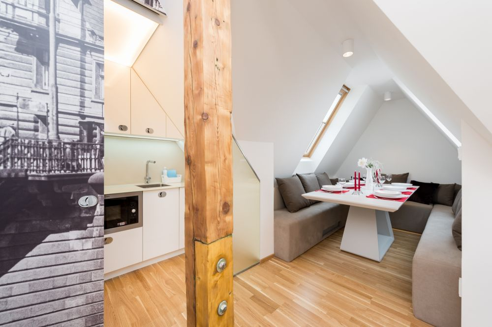 Půdní byt 3+kk, plocha 127 m², ulice Myslíkova, Praha 1 - Nové Město | 1