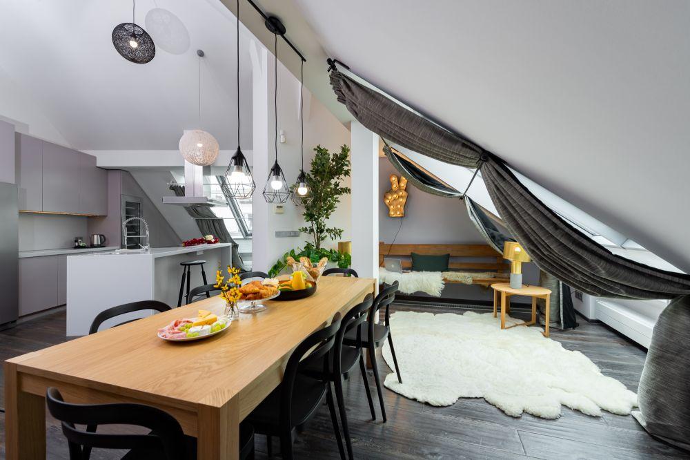 Půdní byt 4+kk, plocha 171 m², ulice Navrátilova, Praha 1 - Nové Město | 4