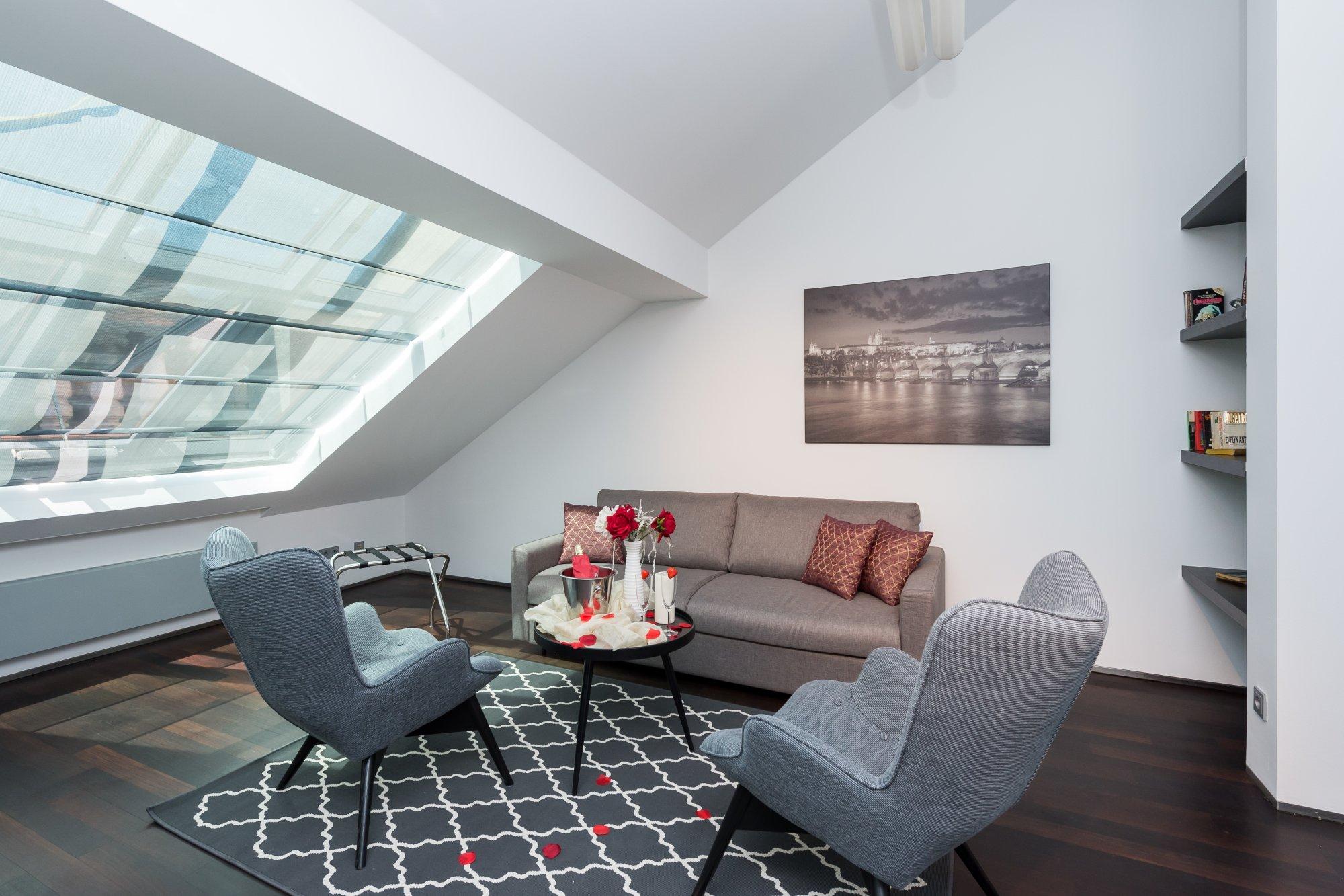 Půdní byt 3+kk, plocha 115 m², ulice Zlatnická, Praha 1 - Nové Město | 3