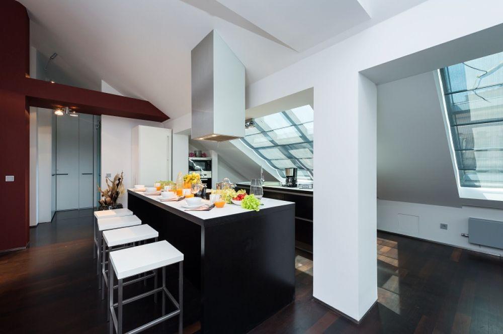 Půdní byt 3+kk, plocha 115 m², ulice Zlatnická, Praha 1 - Nové Město | 4