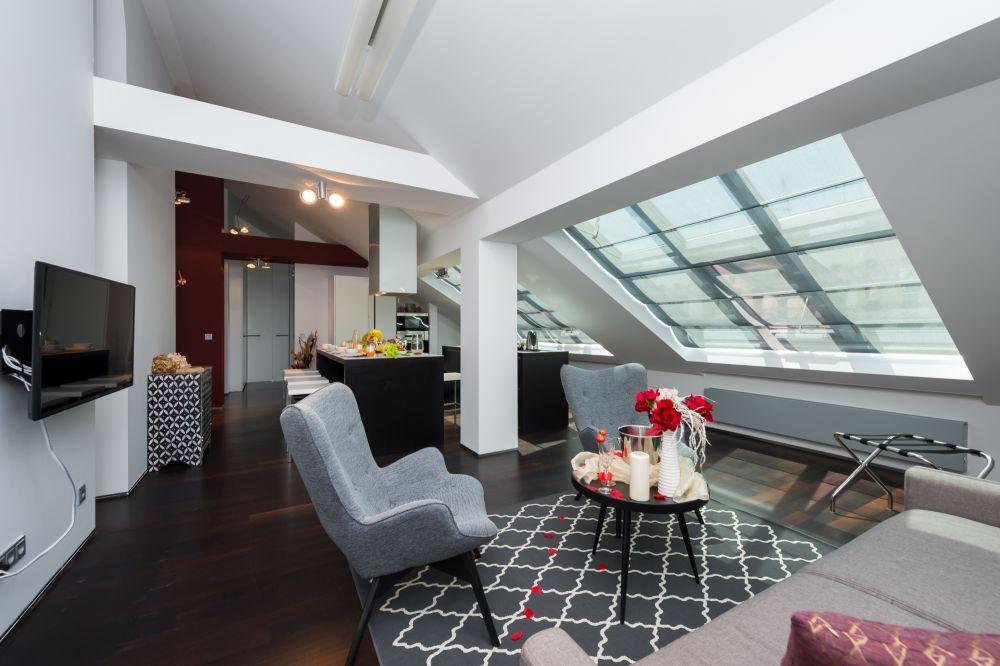 Půdní byt 3+kk, plocha 115 m², ulice Zlatnická, Praha 1 - Nové Město | 2