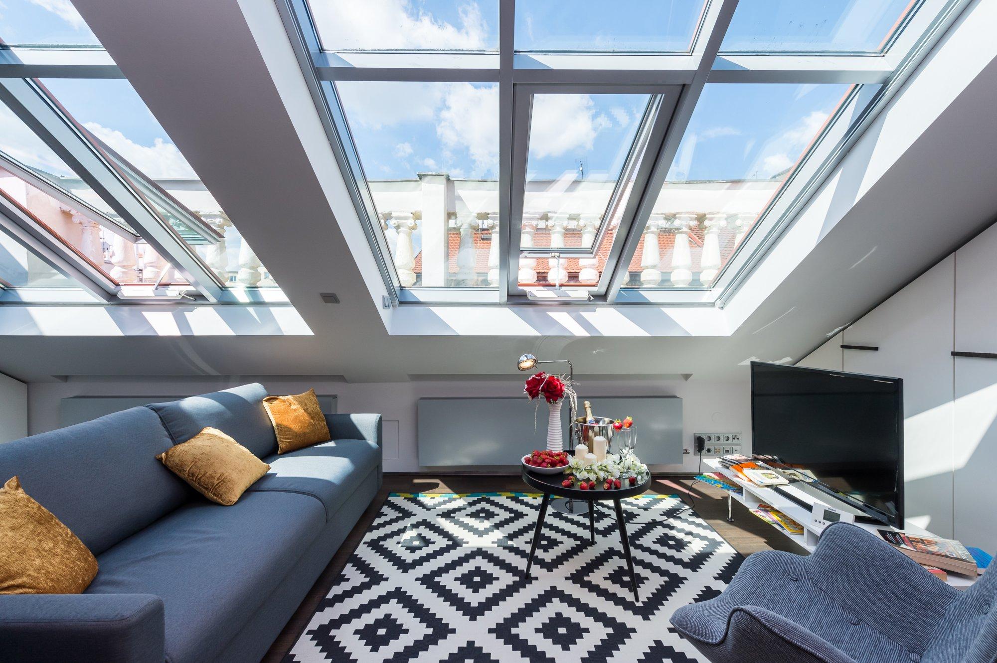 Půdní byt 2+kk, plocha 76 m², ulice Zlatnická, Praha 1 - Nové Město | 2