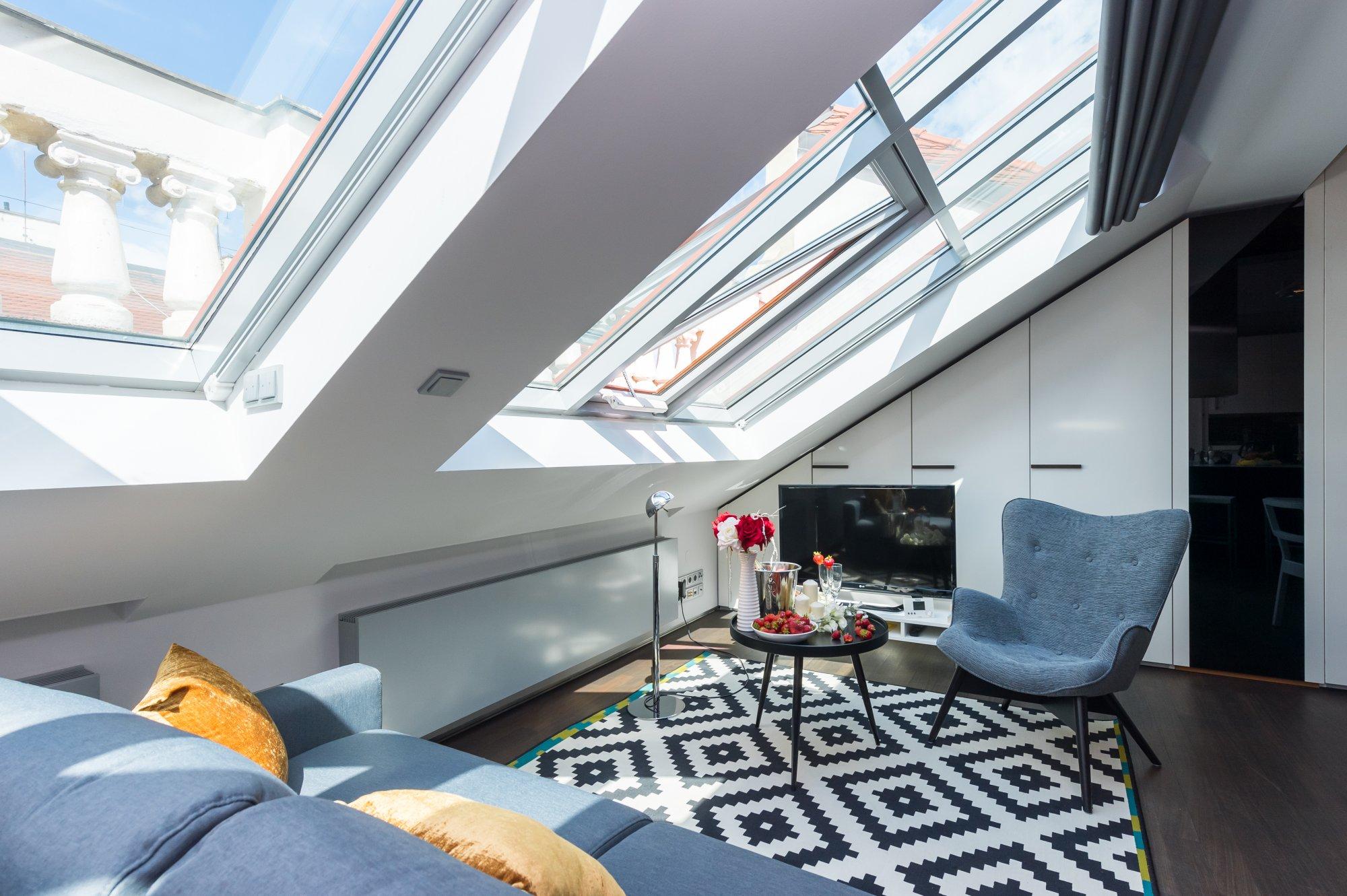 Půdní byt 2+kk, plocha 76 m², ulice Zlatnická, Praha 1 - Nové Město | 3