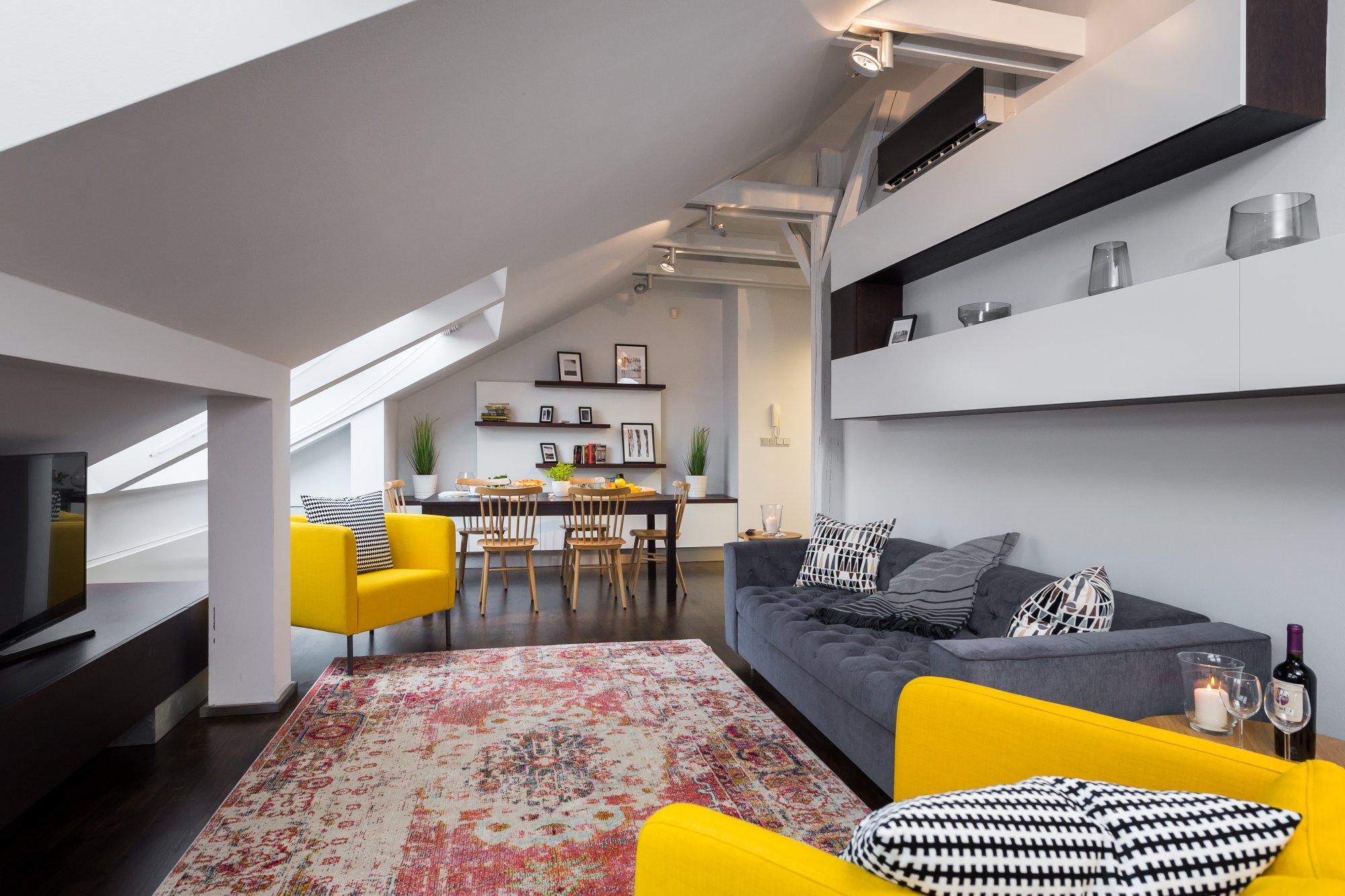 Půdní byt 3+kk, plocha 165 m², ulice Školská, Praha 1 - Nové Město | 3