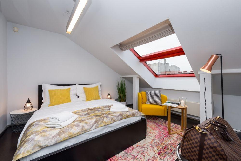 Půdní byt 3+kk, plocha 165 m², ulice Školská, Praha 1 - Nové Město | 12