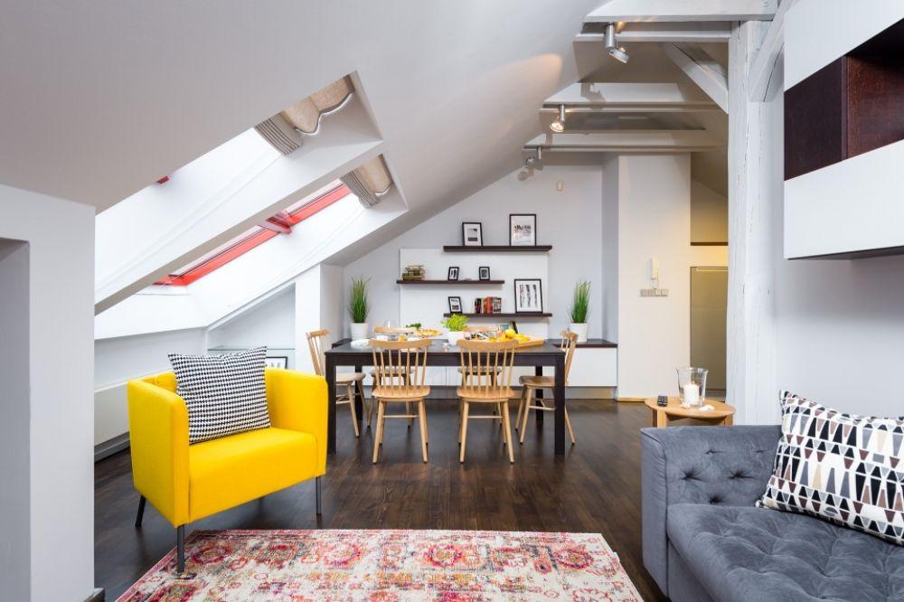 Půdní byt 3+kk, plocha 165 m², ulice Školská, Praha 1 - Nové Město | 4