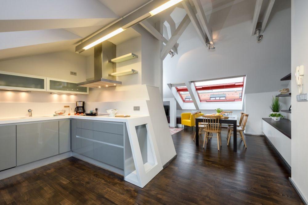 Půdní byt 3+kk, plocha 165 m², ulice Školská, Praha 1 - Nové Město | 7