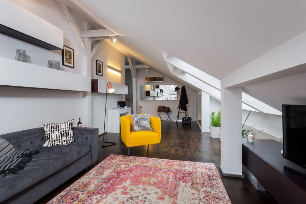 Půdní byt 3+kk, plocha 165 m², ulice Školská, Praha 1 - Nové Město | 8