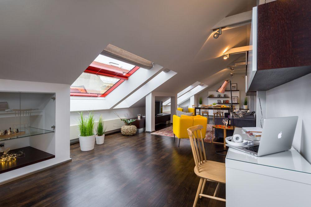 Půdní byt 3+kk, plocha 165 m², ulice Školská, Praha 1 - Nové Město | 1