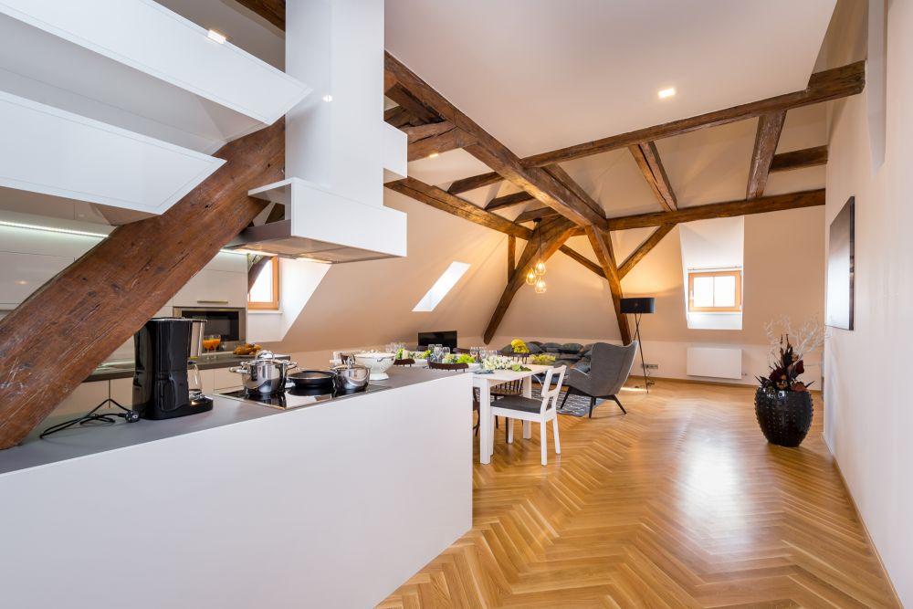 Půdní byt 3+kk, plocha 171 m², ulice Cihelná, Praha 1 - Malá Strana | 1