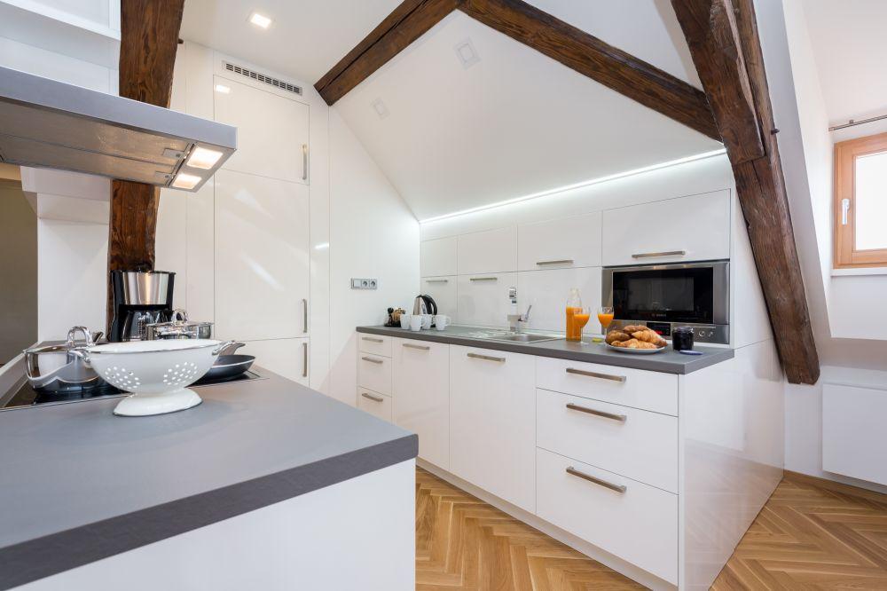 Půdní byt 3+kk, plocha 171 m², ulice Cihelná, Praha 1 - Malá Strana | 3