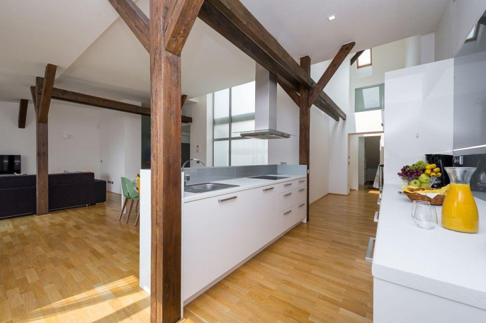 Půdní byt 3+kk, plocha 146 m², ulice Hellichova, Praha 1 - Malá Strana | 7