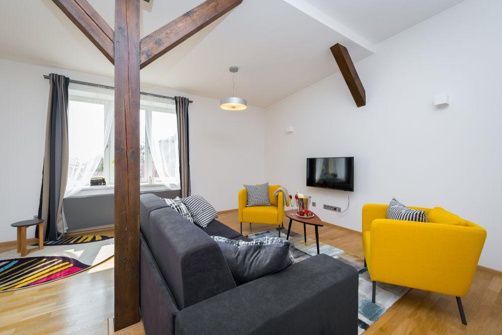 Půdní byt 3+kk, plocha 146 m², ulice Hellichova, Praha 1 - Malá Strana | 3