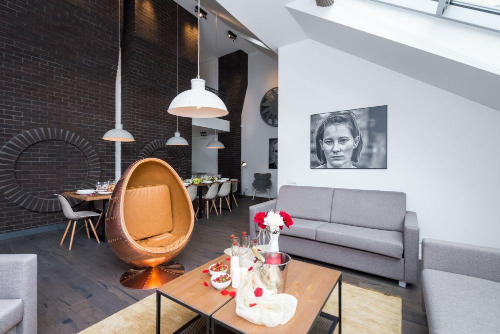 Půdní byt 5+kk, plocha 194 m², ulice Dlážděná, Praha 1 - Nové Město | 4