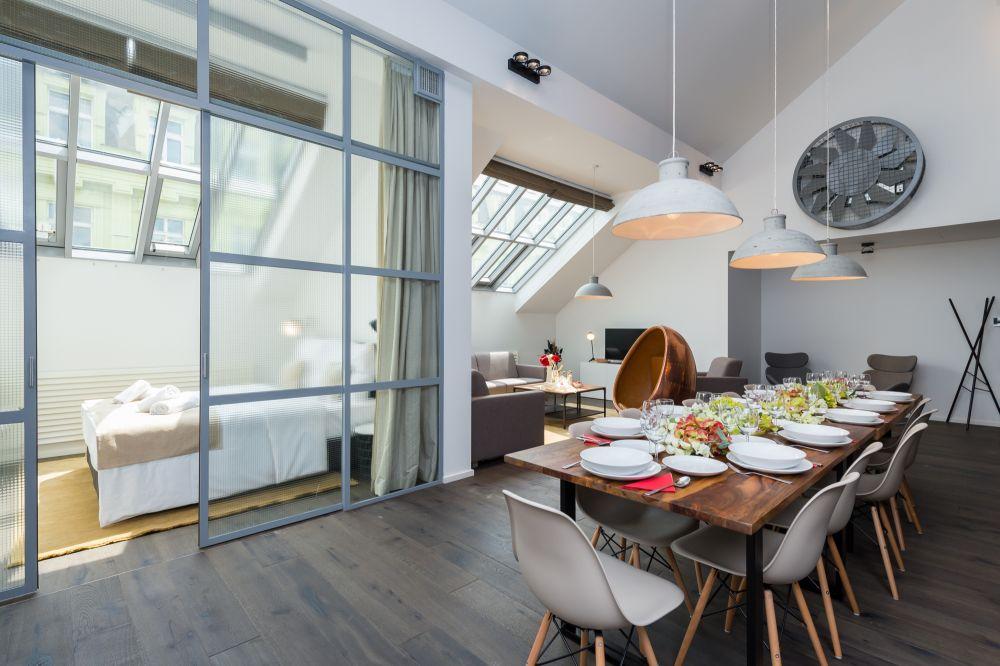 Půdní byt 5+kk, plocha 194 m², ulice Dlážděná, Praha 1 - Nové Město | 6