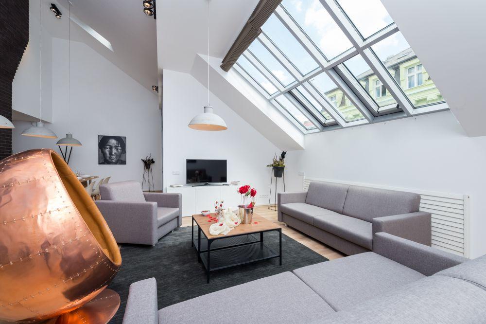 Půdní byt 4+kk, plocha 187 m², ulice Dlážděná, Praha 1 - Nové Město | 12