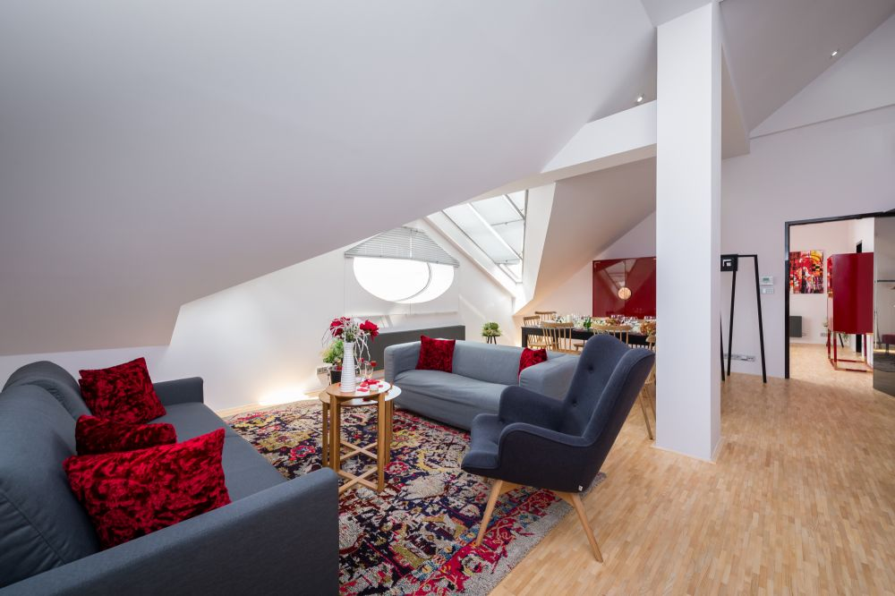 Půdní byt 4+kk, plocha 159 m², ulice Ve Smečkách, Praha 1 - Nové Město | 7