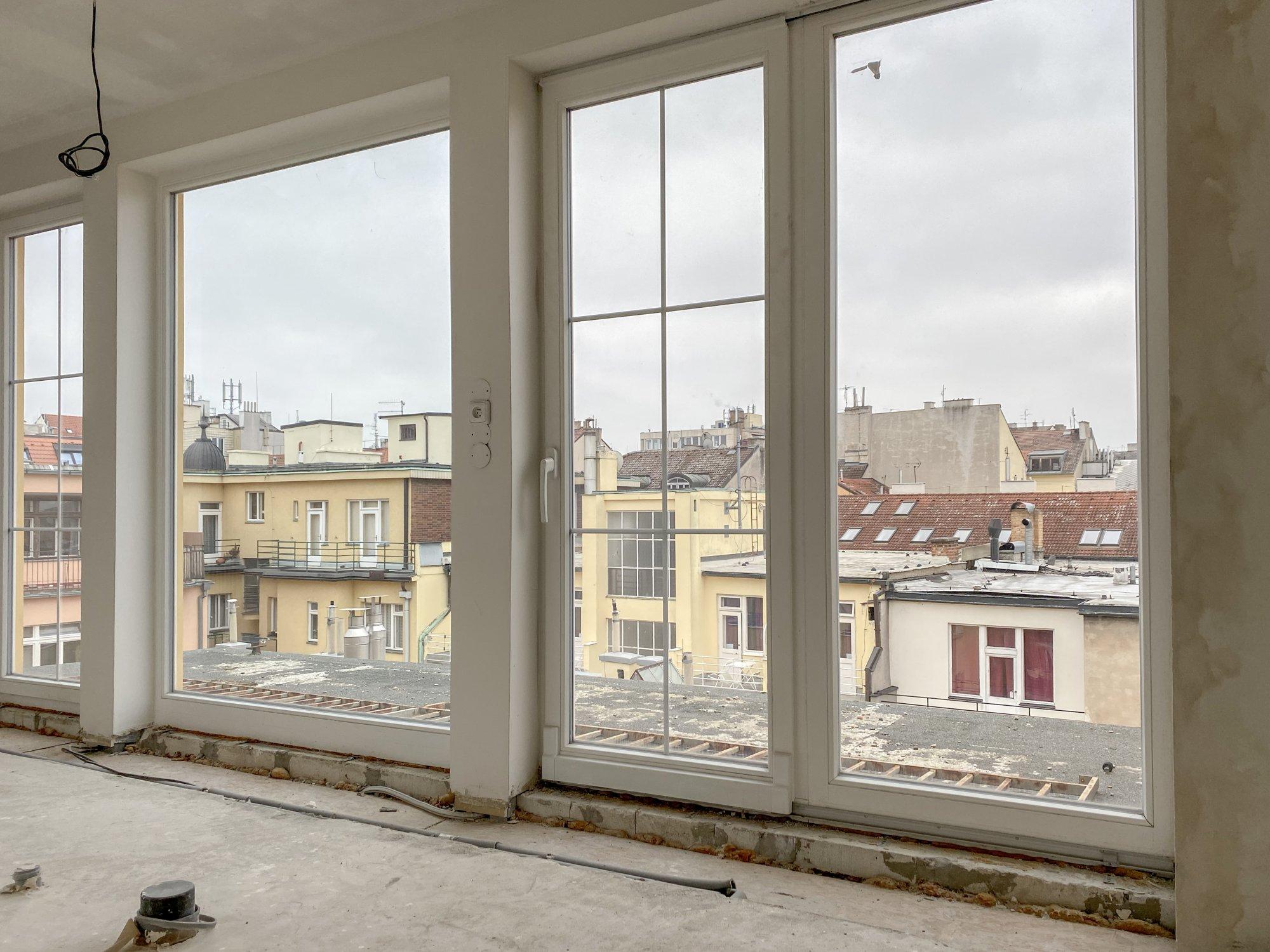 Půdní byt 5+kk, plocha 198 m², ulice Navrátilova, Praha 1 - Nové Město | 1