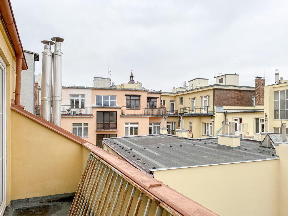 Půdní byt 5+kk, plocha 198 m², ulice Navrátilova, Praha 1 - Nové Město | 6