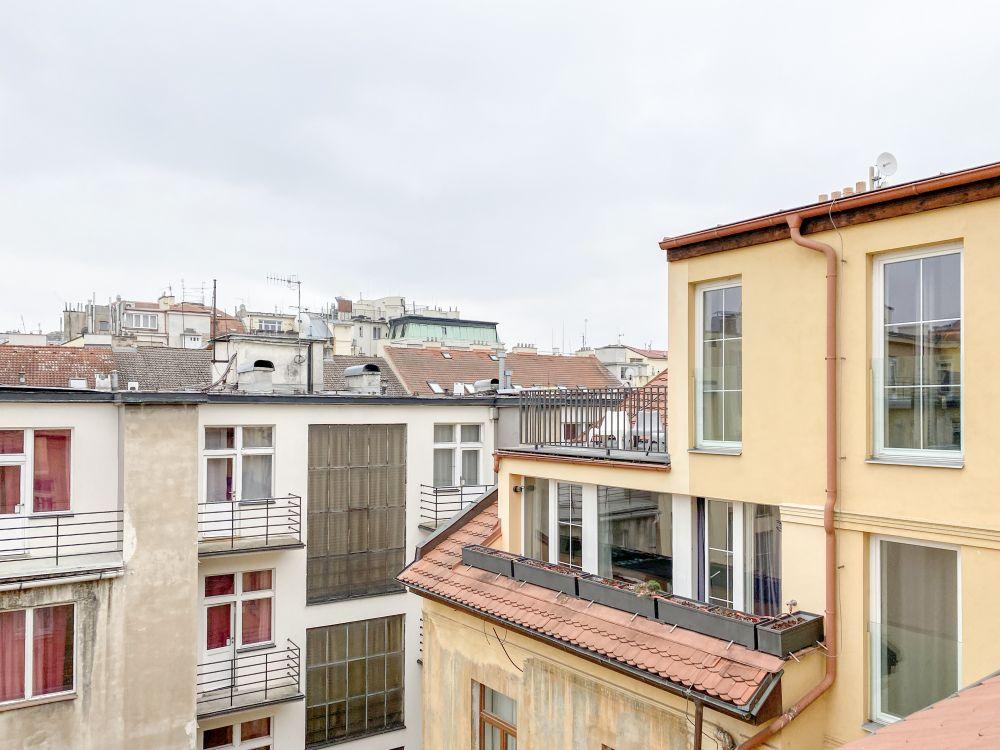 Půdní byt 5+kk, plocha 198 m², ulice Navrátilova, Praha 1 - Nové Město | 7