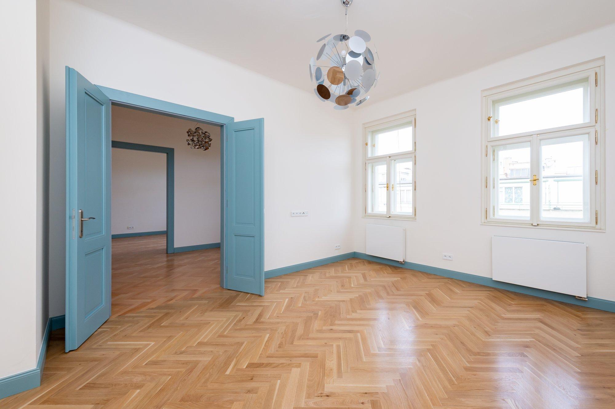 Půdní byt 3+1, plocha 81 m², ulice Petrské náměstí, Praha 1 - Nové Město | 1