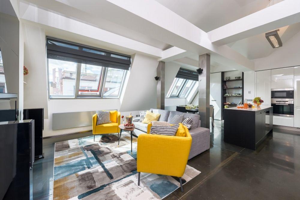 Půdní byt 3+kk, plocha 113 m², ulice Navrátilova, Praha 1 - Nové Město | 1