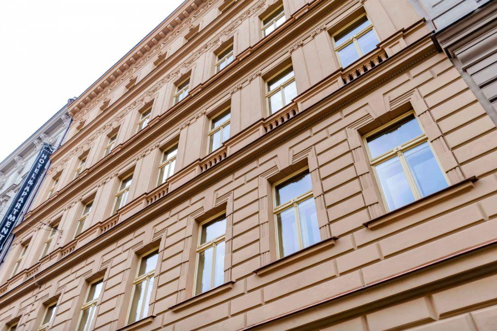 Podkrovní byty Praha 2 -