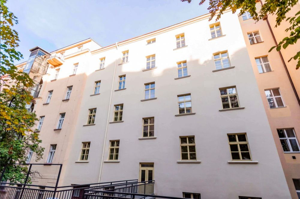 Pohled dvorní projekt Legerova - developerský projekt Legerova, ulice Legerova, Praha 2 - Nové Město | 12