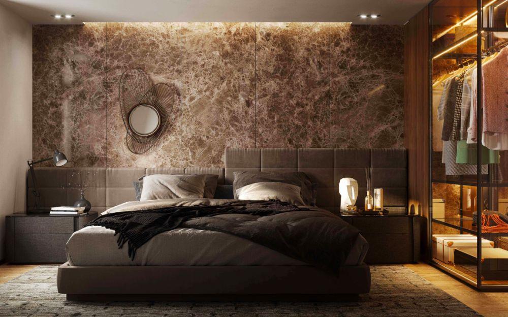 Vizualizace ložnice -