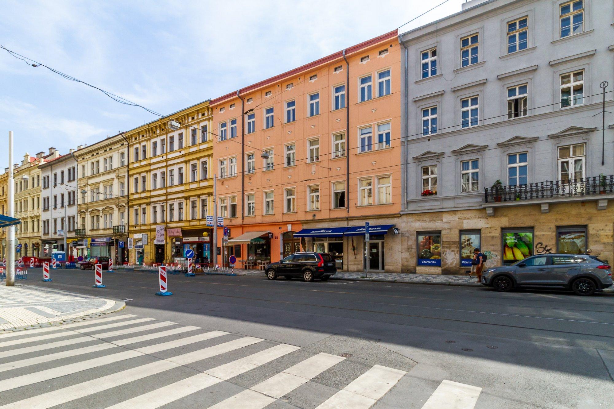Developerský projekt Štefánikova, ulice Štefánikova, Praha 5 - Smíchov | 1