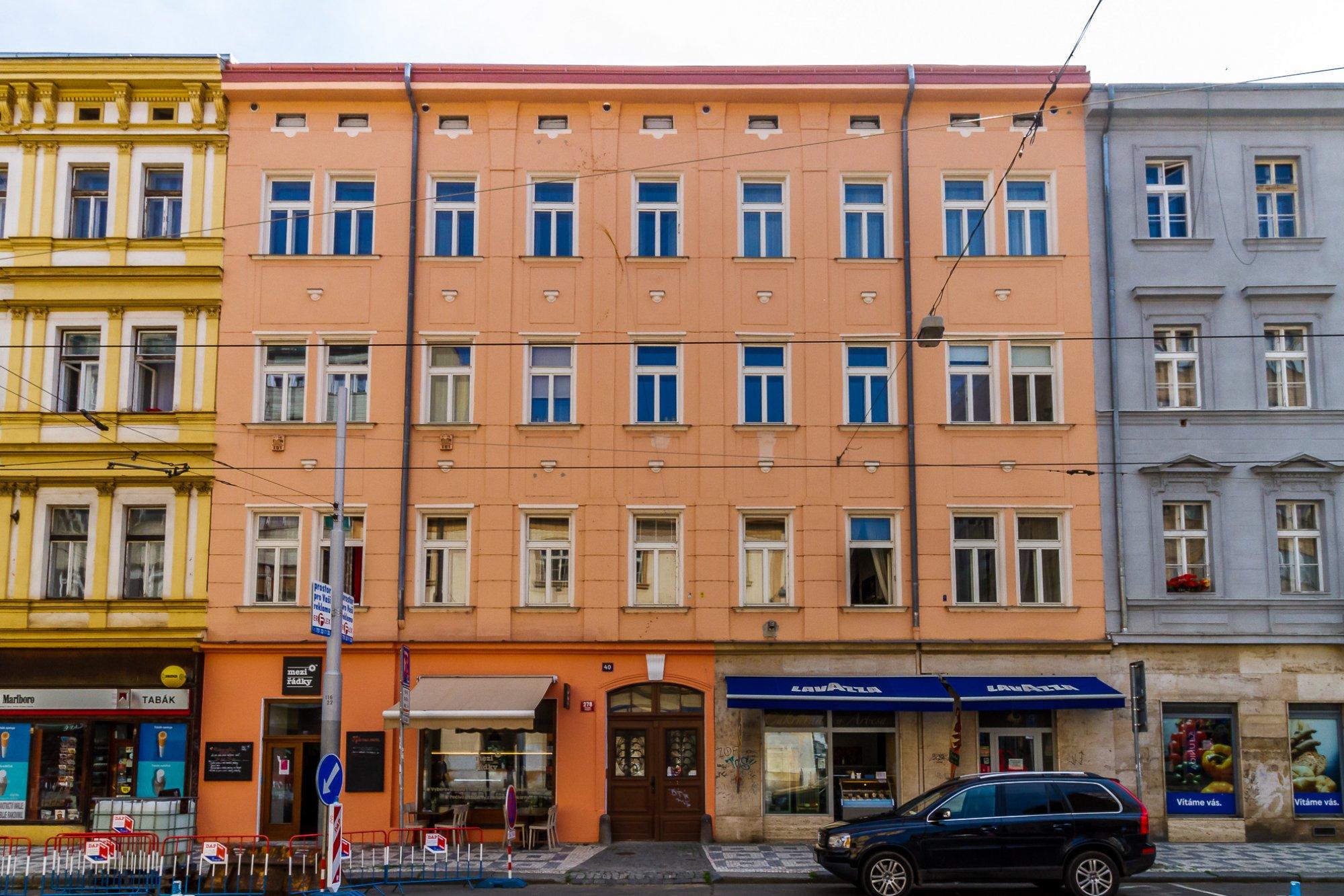 Developerský projekt Štefánikova, ulice Štefánikova, Praha 5 - Smíchov | 2
