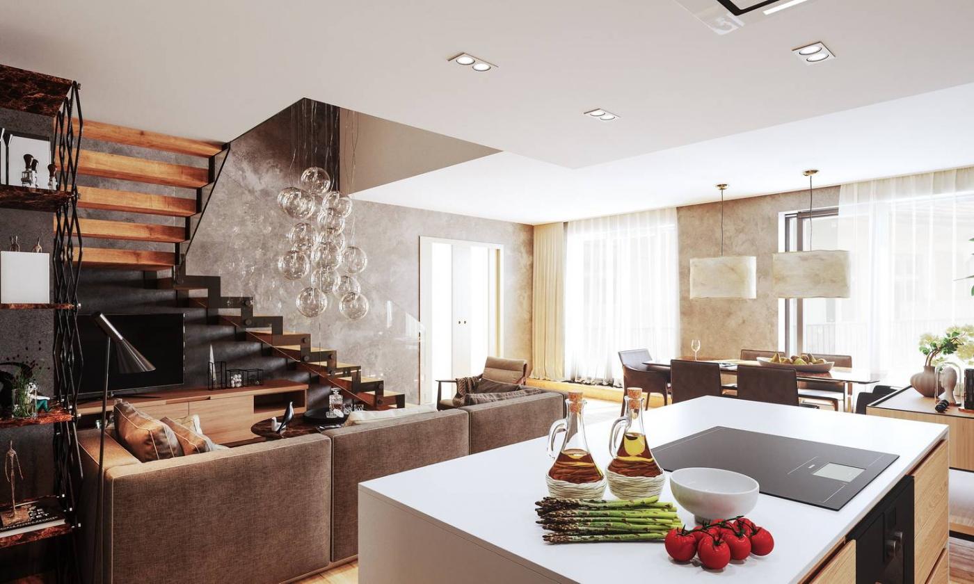 Půdní byt 4+kk, plocha 142 m², ulice Jungmannova, Praha 1 - Nové Město | 1