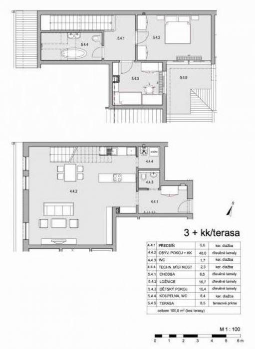 Půdní byt 3+kk, plocha 109 m², ulice Lumírova, Praha 2 - Vyšehrad, cena 8 950 000 Kč | 16
