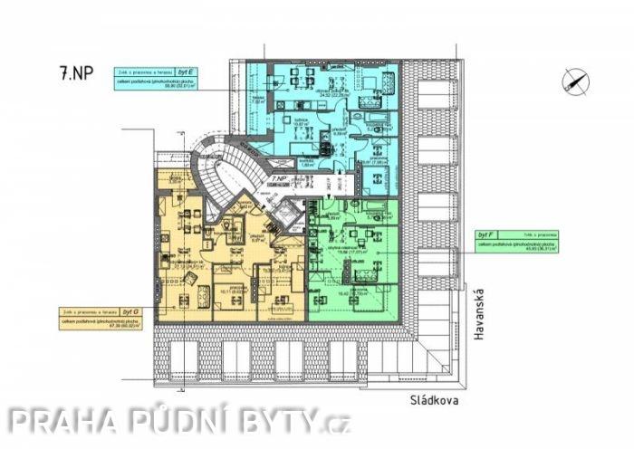 Developerský projekt Sládkova, ulice Sládkova, Praha 7 - Bubeneč | 5