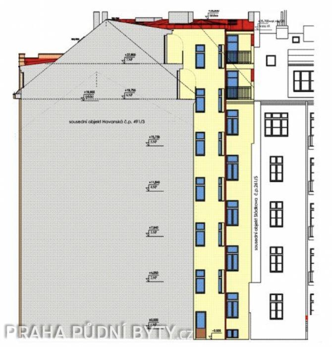 Developerský projekt Sládkova, ulice Sládkova, Praha 7 - Bubeneč | 3