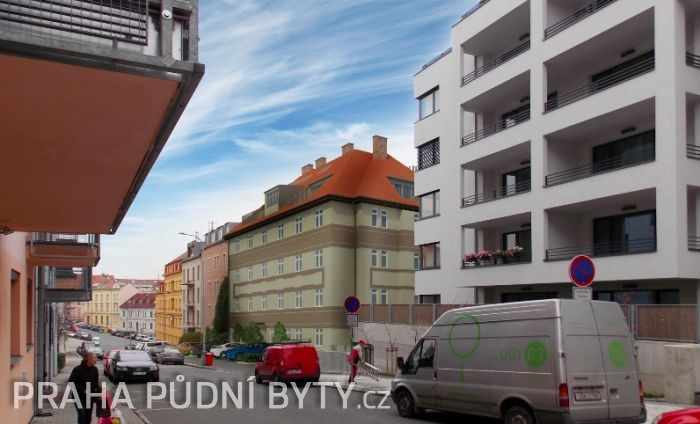 Developerský projekt Nad Závěrkou, ulice Nad Závěrkou, Praha 6 - Břevnov | 2