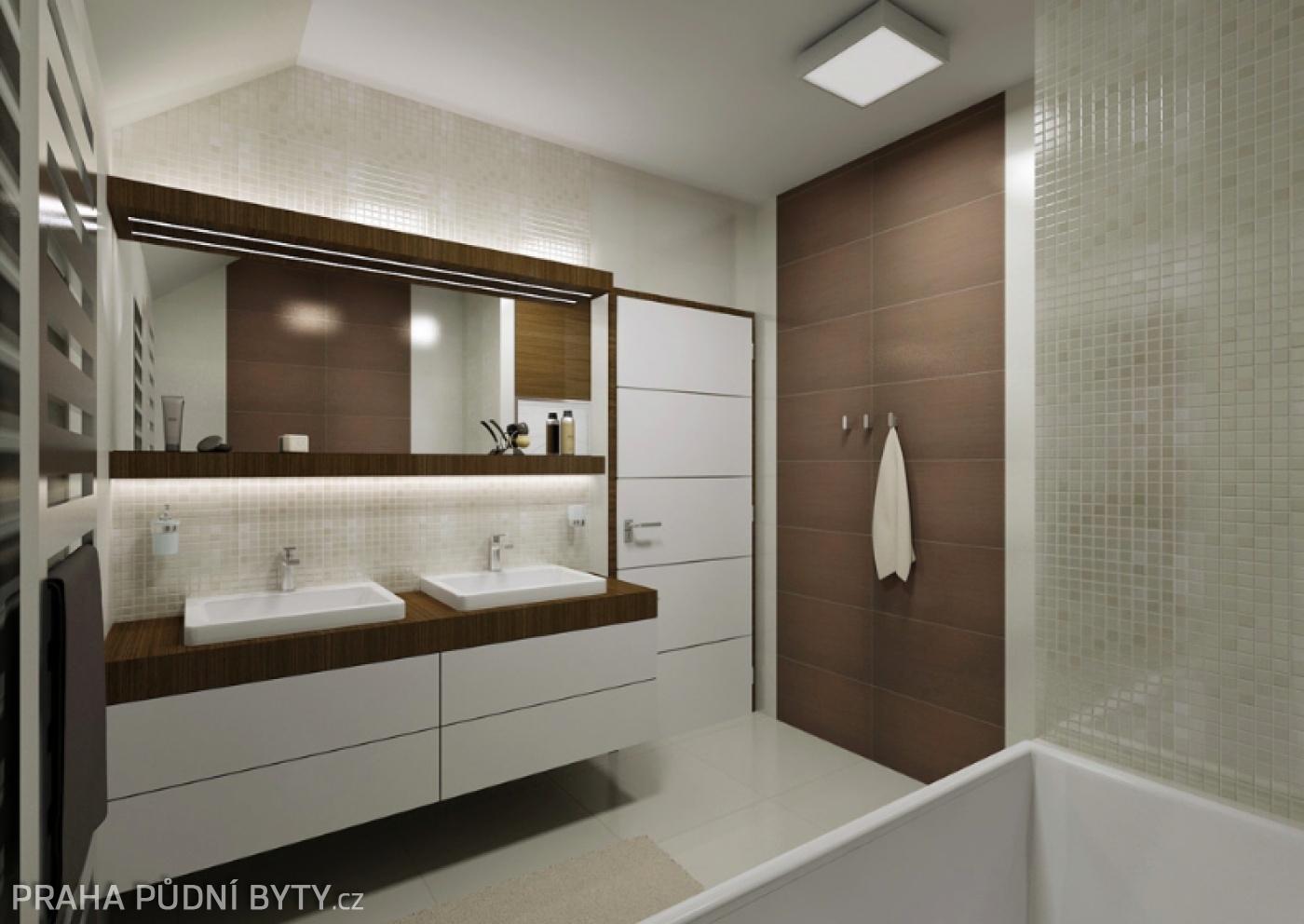Půdní byt 4+kk, plocha 137 m², ulice Nad Závěrkou, Praha 6 - Břevnov | 2
