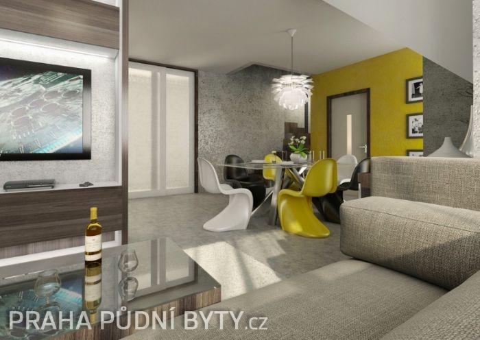 Půdní byt 5+kk, plocha 185 m², ulice Nad Závěrkou, Praha 6 - Břevnov | 1