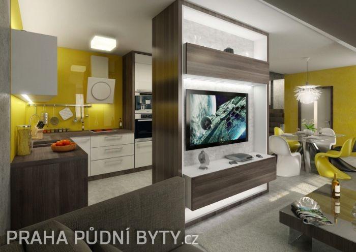 Půdní byt 5+kk, plocha 185 m², ulice Nad Závěrkou, Praha 6 - Břevnov | 3