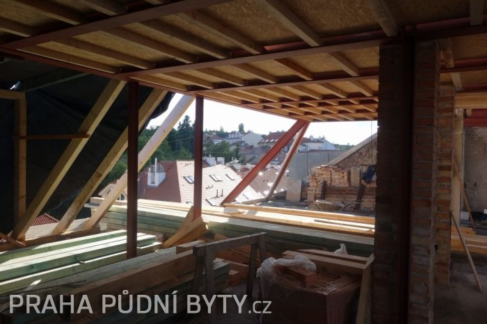 Půdní byt 5+kk, plocha 185 m², ulice Nad Závěrkou, Praha 6 - Břevnov | 9