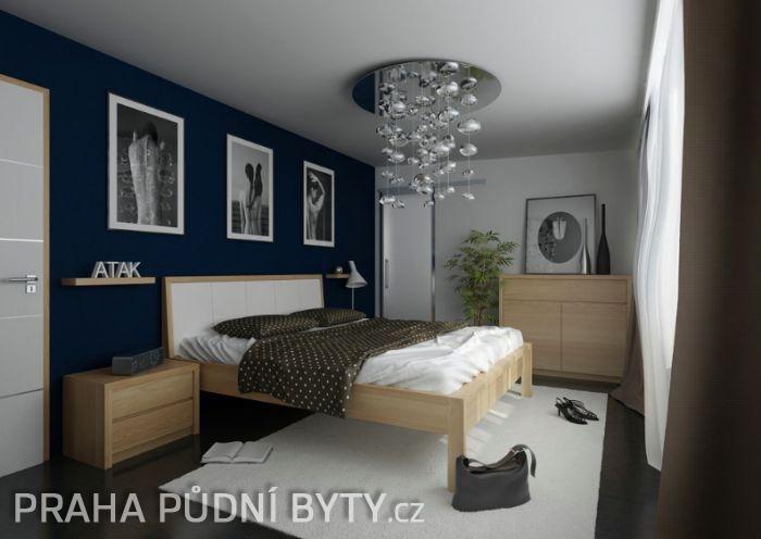 Půdní byt 3+kk, plocha 118 m², ulice Nad Závěrkou, Praha 6 - Břevnov | 12