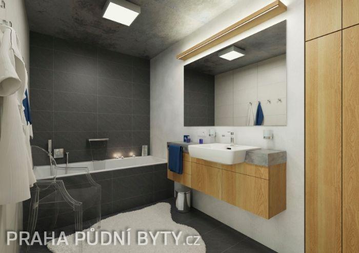 Půdní byt 3+kk, plocha 118 m², ulice Nad Závěrkou, Praha 6 - Břevnov | 10